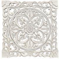 Dom Obrazy Signes Grimalt Ornament Ścienny. Blanco