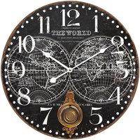 Dom Zegary Signes Grimalt Zegar Ścienny 58 Cm. Negro