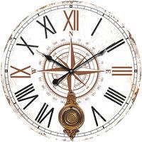 Dom Zegary Signes Grimalt Zegar Ścienny 58 Cm. Blanco