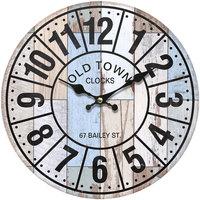 Dom Zegary Signes Grimalt Zegar Ścienny 34 Cm. Gris