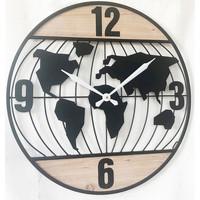 Dom Zegary Signes Grimalt Zegar Ścienny 60 Cm. Negro