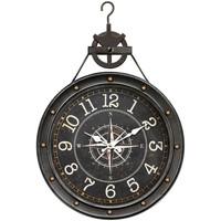 Dom Zegary Signes Grimalt Zegar Ścienny 40,5 Cm. Negro