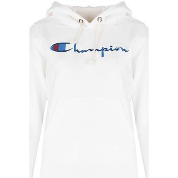 tekstylia Damskie Bluzy Champion  Biały