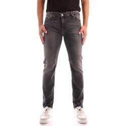 tekstylia Męskie Jeansy slim fit Calvin Klein Jeans K10K106564 Czarny