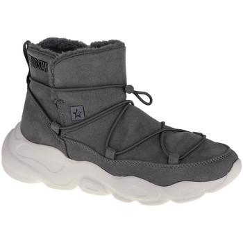 Buty Damskie Śniegowce Big Star Shoes Szary