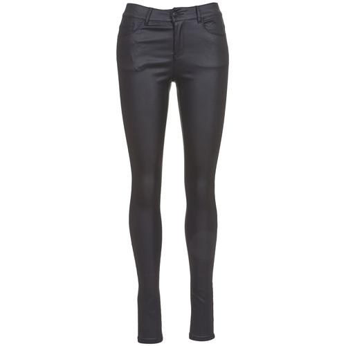tekstylia Damskie Spodnie z pięcioma kieszeniami Vero Moda SEVEN Czarny