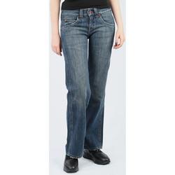 tekstylia Damskie Spodnie z lejącej tkaniny / Alladynki Lee Avalon Loose Fit L344BH75 niebieski