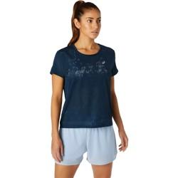 tekstylia Damskie T-shirty z krótkim rękawem Asics Ventilate SS Top Niebieski