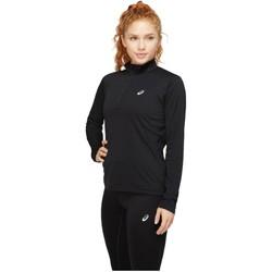 tekstylia Damskie T-shirty z długim rękawem Asics Core Longsleeve 1/2 Zip Top Czarny