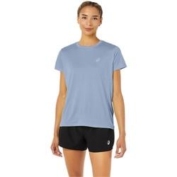 tekstylia Damskie T-shirty z krótkim rękawem Asics Core SS Top Niebieski