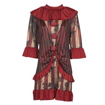 tekstylia Damskie Kostiumy Fun Costumes COSTUME ADULTE CLOWNETTE DE MINUIT Wielokolorowy