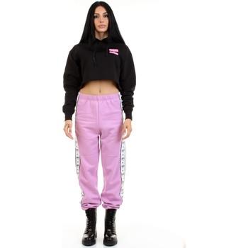 tekstylia Damskie Spodnie dresowe Chiara Ferragni 71CBAF03-CFC0F Fioletowy
