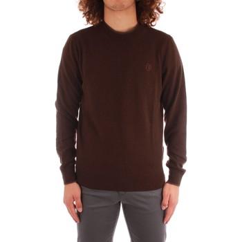 tekstylia Męskie T-shirty z długim rękawem Trussardi 52M00519 0F000571 Brązowy