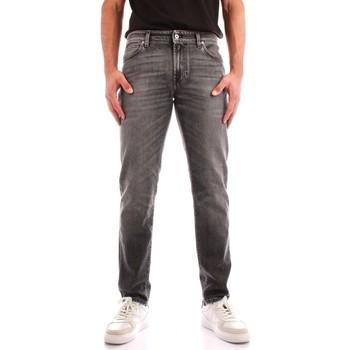 tekstylia Męskie Jeansy straight leg Roy Rogers A21RRU075N0561889 Czarny