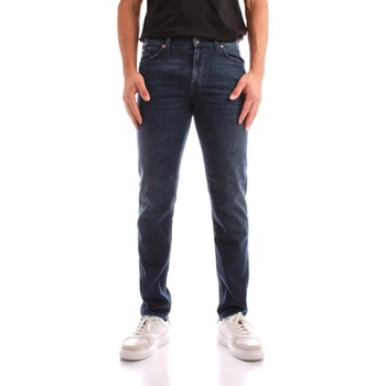 tekstylia Męskie Jeansy straight leg Roy Rogers A21RRU075D4631891 Niebieski
