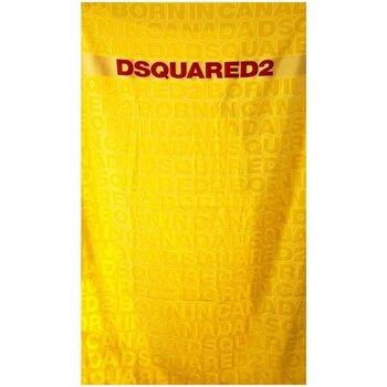 Dom Damskie Ręcznik plażowy Dsquared D7P001920 Żółty