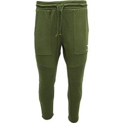 tekstylia Męskie Spodnie dresowe Diadora Cuff Shield Zielony