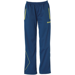 tekstylia Damskie Spodnie Kempa Pantalon Femme Curve Classic bleu/jaune