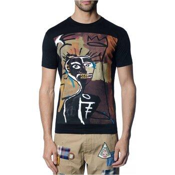tekstylia Męskie T-shirty z krótkim rękawem Dsquared S71GD0621 Czarny