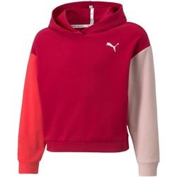 tekstylia Dziewczynka Bluzy Puma 589214 bordo-colored