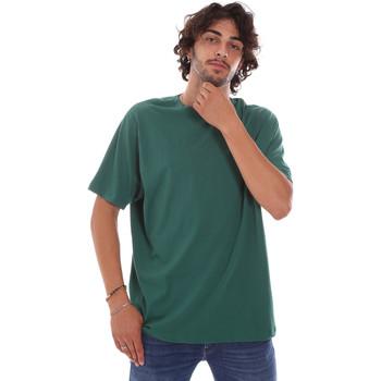 tekstylia Męskie T-shirty z krótkim rękawem Invicta 4451244/U Zielony