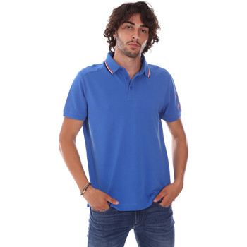 tekstylia Męskie Koszulki polo z krótkim rękawem Invicta 4452241/U Niebieski
