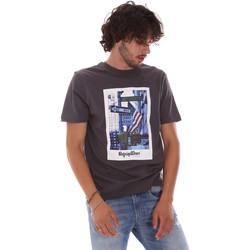 tekstylia Męskie T-shirty z krótkim rękawem Refrigiwear RM0T24400JE9101 Szary