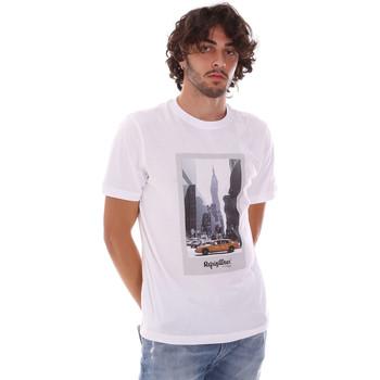 tekstylia Męskie T-shirty z krótkim rękawem Refrigiwear RM0T25500JE9101 Biały