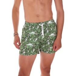 tekstylia Męskie Kostiumy / Szorty kąpielowe Ea7 Emporio Armani 902000 7P755 Zielony