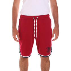 tekstylia Męskie Kostiumy / Szorty kąpielowe Key Up 2S65F 0001 Czerwony