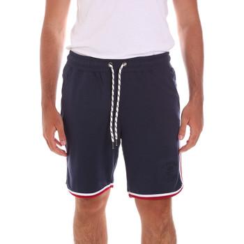 tekstylia Męskie Kostiumy / Szorty kąpielowe Key Up 2S65F 0001 Niebieski