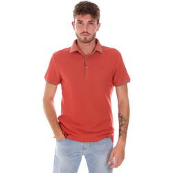 tekstylia Męskie Koszulki polo z krótkim rękawem Gas 310124 Pomarańczowy