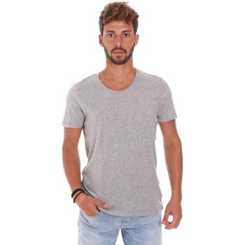 tekstylia Męskie T-shirty z krótkim rękawem Antony Morato MMKS01003 FA100092 Szary