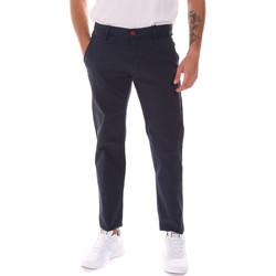 tekstylia Męskie Spodnie Gaudi 811BU25003 Niebieski