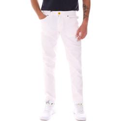 tekstylia Męskie Spodnie Gaudi 811FU26005 Biały