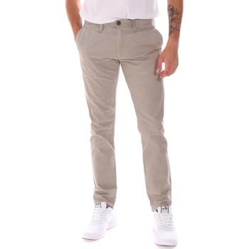 tekstylia Męskie Spodnie Gaudi 911BU25021 Beżowy