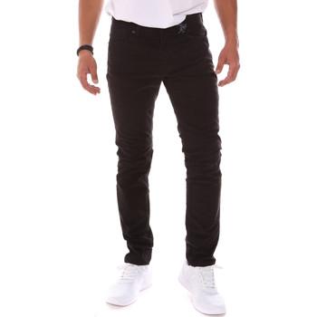 tekstylia Męskie Spodnie Gaudi 021GU25015 Czarny