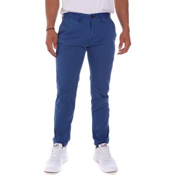 tekstylia Męskie Spodnie Gaudi 811FU25016 Niebieski