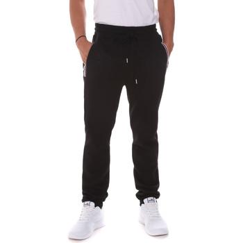 tekstylia Męskie Spodnie Key Up 2FS43 0001 Czarny