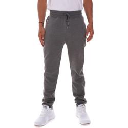 tekstylia Męskie Spodnie Key Up 2FS43 0001 Szary