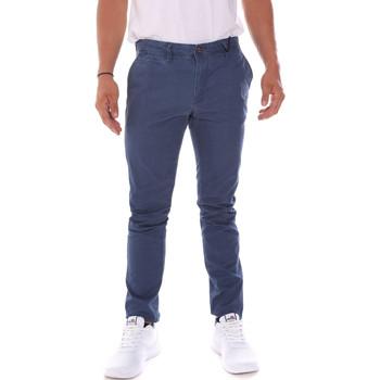 tekstylia Męskie Spodnie Gaudi 911BU25021 Niebieski