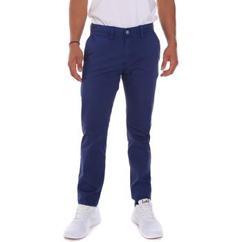 tekstylia Męskie Spodnie Gaudi 811BU25016 Niebieski