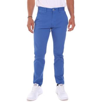 tekstylia Męskie Spodnie Gaudi 811FU25019 Niebieski