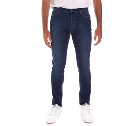 tekstylia Męskie Jeansy slim fit Navigare N651020 Niebieski