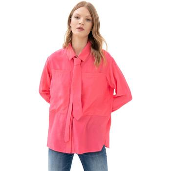 tekstylia Damskie Koszule Fracomina F321WT6001W41801 Różowy