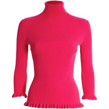 tekstylia Damskie Swetry Fracomina FR21WT7011K41401 Różowy