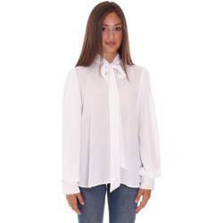 tekstylia Damskie Koszule Fracomina F321WT6004W41201 Biały