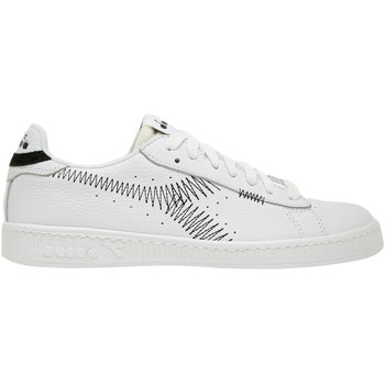 Buty Męskie Trampki niskie Diadora 501177741 Biały
