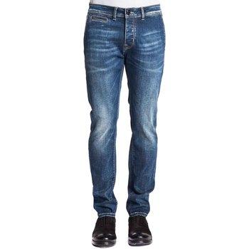 tekstylia Męskie Jeansy slim fit Gaudi 121GU26019 Niebieski