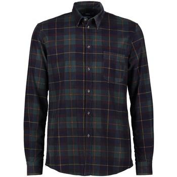 tekstylia Męskie Koszule z długim rękawem Gaudi 121GU45022 Zielony